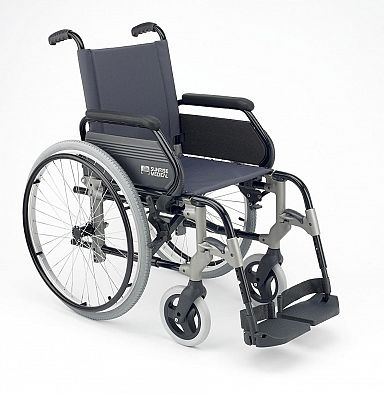 Manual wheelchair big wheel