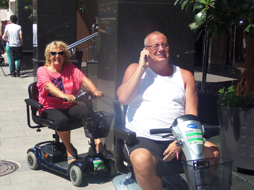 Mobility Scooter Hire Benidorm Wheelchairs Rollators