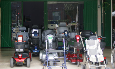 Mobility scooters, wheelchairs, walkers... at SecurMobil